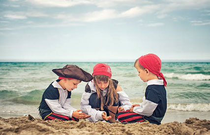 Beach Treasure Hunt